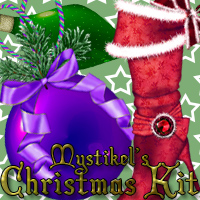 mystikels Christmas Kit 2D Graphics 3D Models mystikel