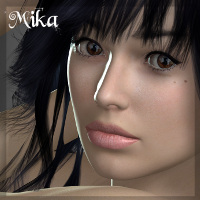 Mika 3D Figure Essentials 3D Models Imaginary_House