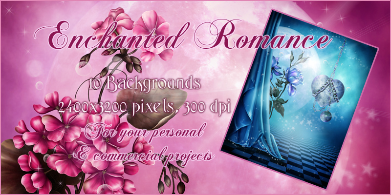 Enchanted Romance Backgrounds