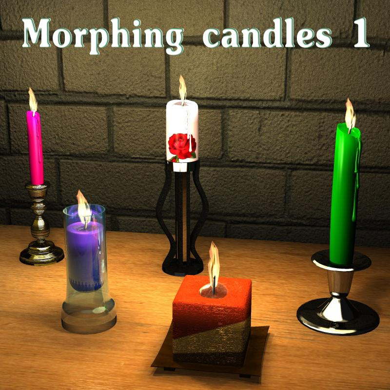 Morphing candles 1 by greenpots