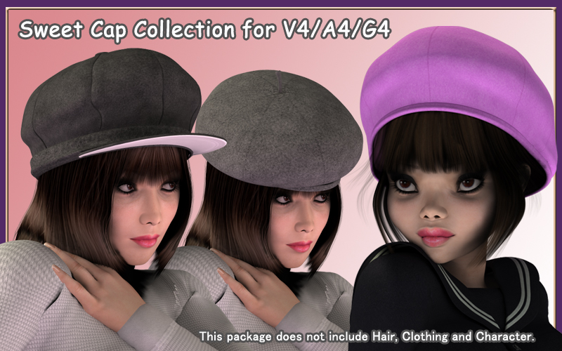 Sweet Cap Collection for V4-A4-G4