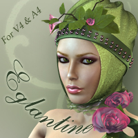 Eglantine V4 A4 Themed Accessories Clothing nikisatez