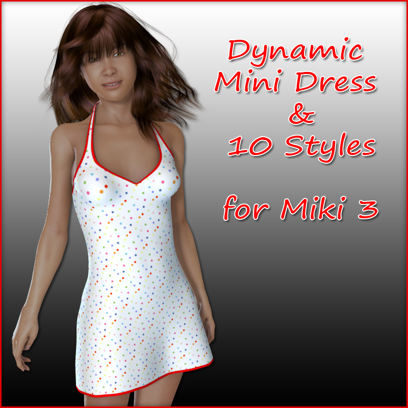 Miki 3 - Mini Dress and 10 Styles