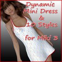 Miki 3 - Mini Dress and 10 Styles  karanta