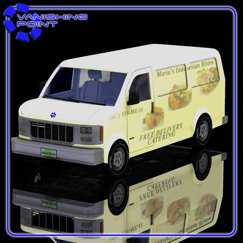 Delivery Van (for Poser)