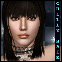 Chilly Hair 3D Models 3D Figure Essentials Propschick