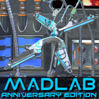 Madlab Anniversary Edition 3D Models 3Diotic