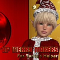 AF Merry Makers 3D Figure Essentials 3D Models Angelsfury2004