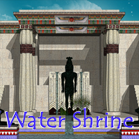 Water Shrine 3D Models skarland
