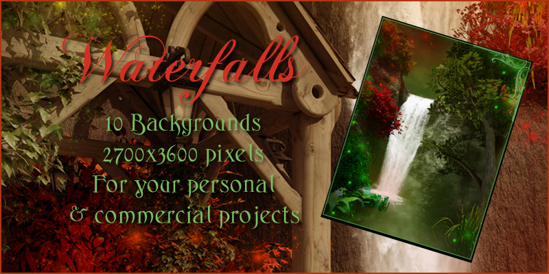 Waterfalls Backgrounds