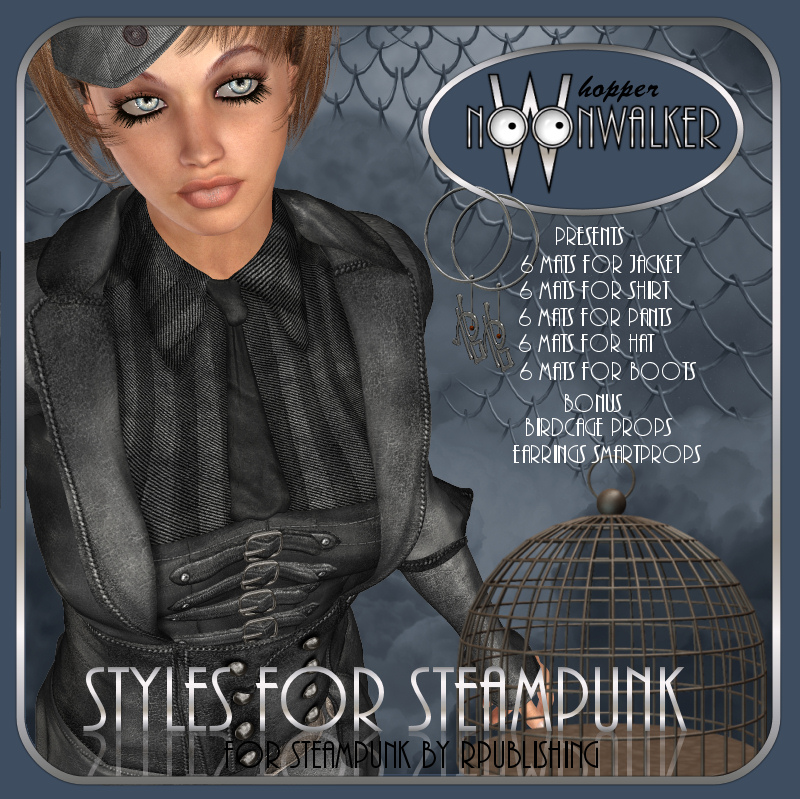 Styles for Steampunk
