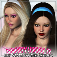 Kandy Hair 3D Figure Assets outoftouch