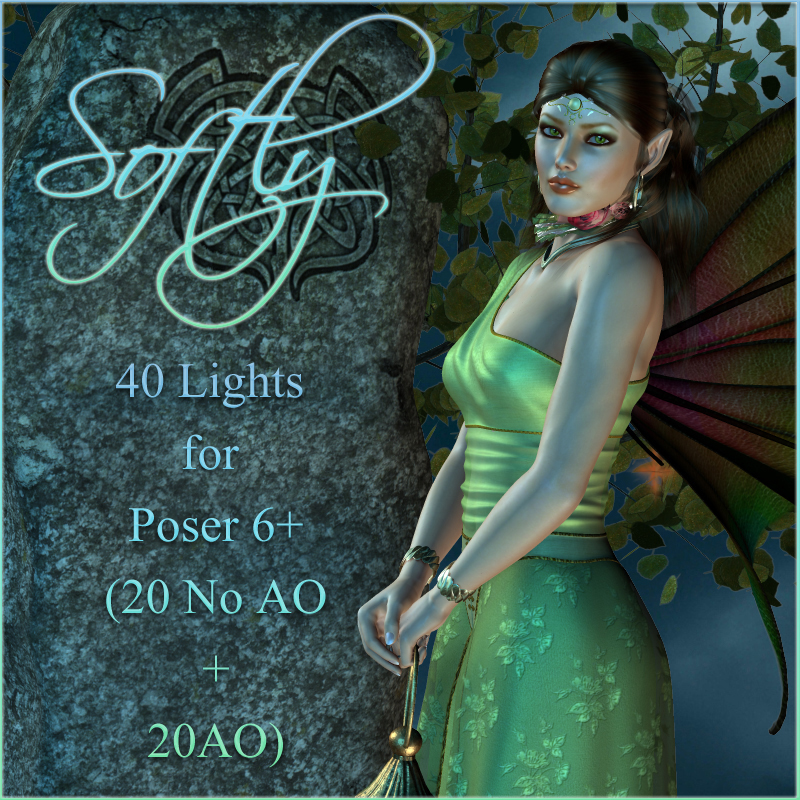 Softly - Lights for Poser