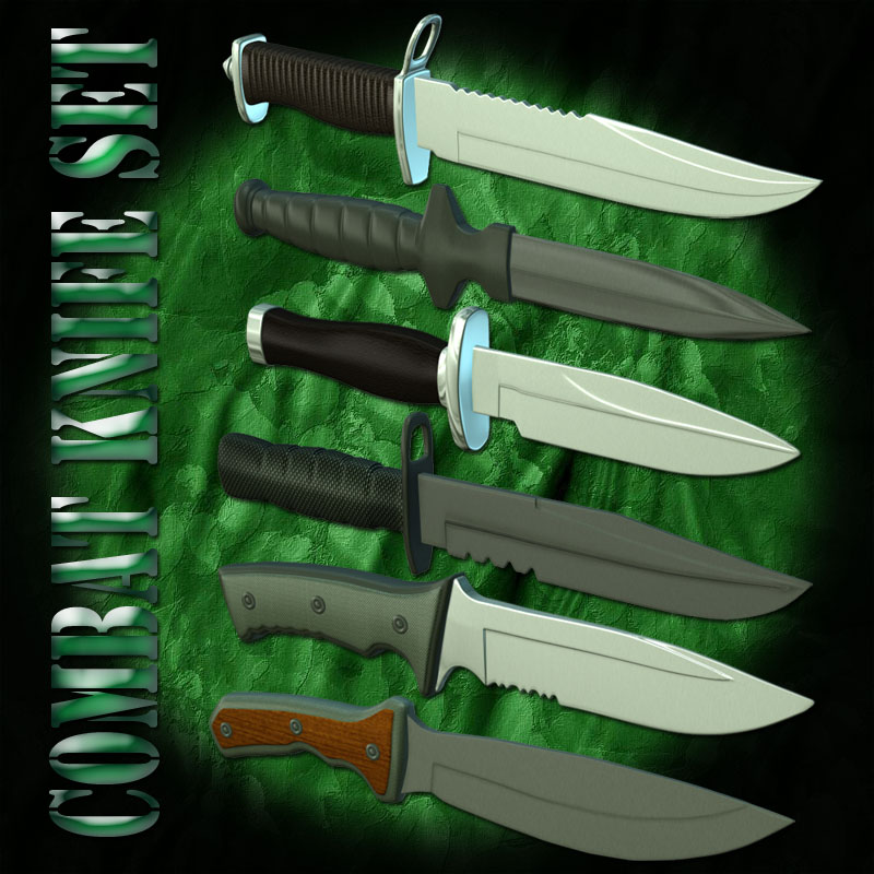 Combat Knife Set