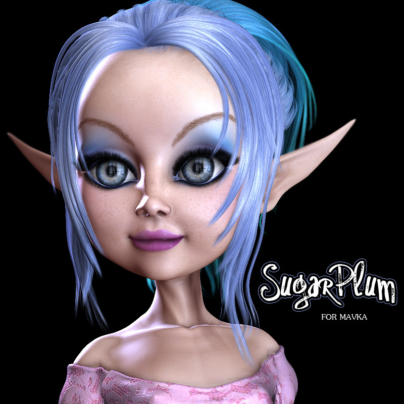 3DSV SugarPlum for Mavka by 3DSublimeProductions