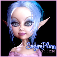 3DSV SugarPlum for Mavka 3D Figure Assets 2D Graphics 3DSublimeProductions