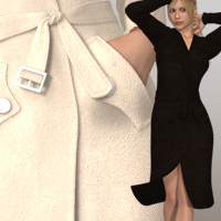 Dec Coat Clothing 3D-Age