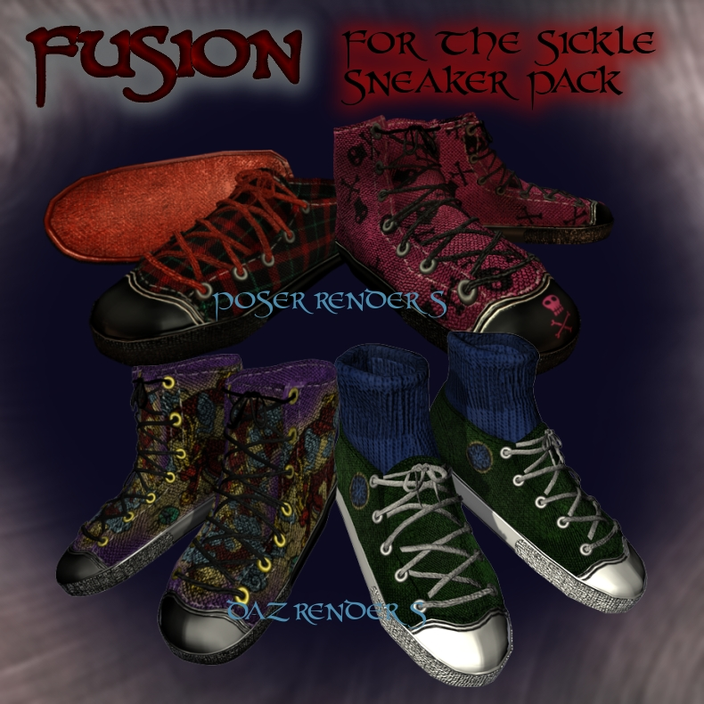 Fusion for the Sickle Sneaker Pack