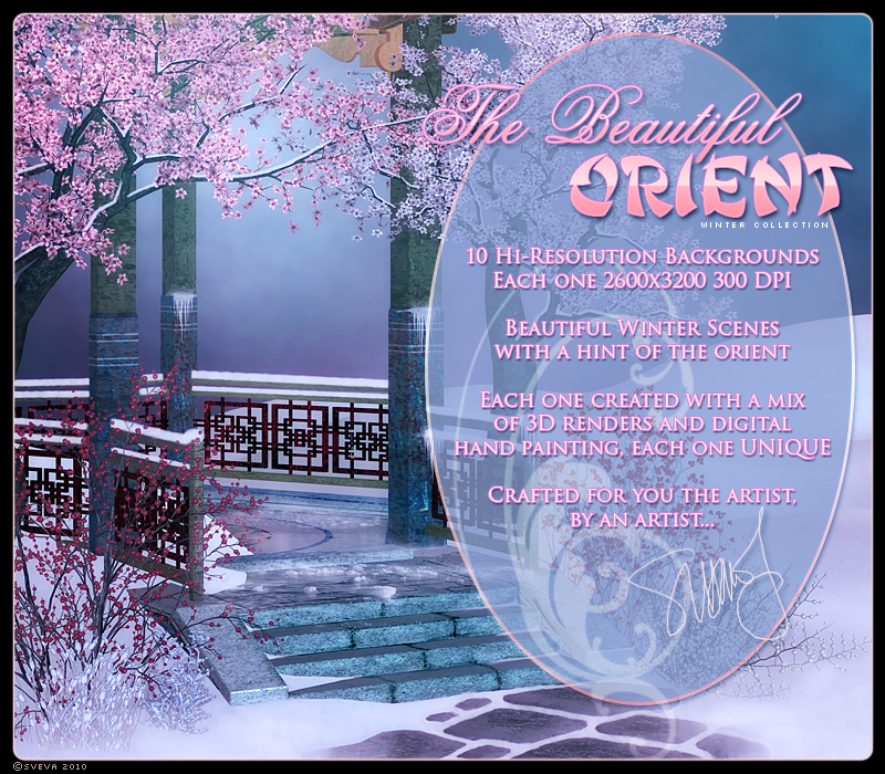 The Beautiful Orient, Winter Collection