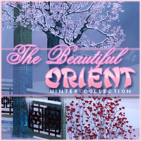 The Beautiful Orient, Winter Collection 2D Graphics Sveva