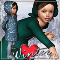 Winter Love for Kids 4 Clothing Themed outoftouch