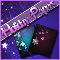 Background Mini-Pack 09: Holiday Papers 2D And/Or Merchant Resources Themed Sveva