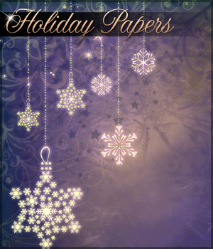Holiday Papers Background Mini Pack 2D Graphics Sveva
