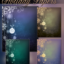 Holiday Papers Background Mini Pack image 1