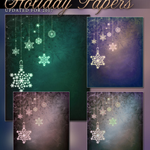 Holiday Papers Background Mini Pack image 2