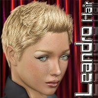 Leandro Hair 3D Figure Essentials Mairy
