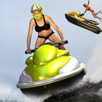 Personal Watercraft Poses/Expressions Themed Transportation apcgraficos