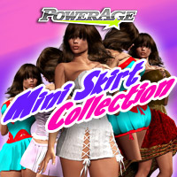 Mini Skirt Collection 3D Figure Assets Legacy Discounted Content powerage