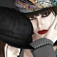 Hat Shop for Sweet Cap Collection Clothing Themed kaleya