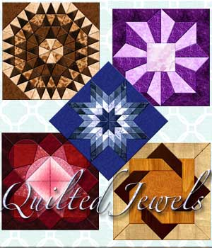 Harvest Moons Quilted Jewels  MOONWOLFII