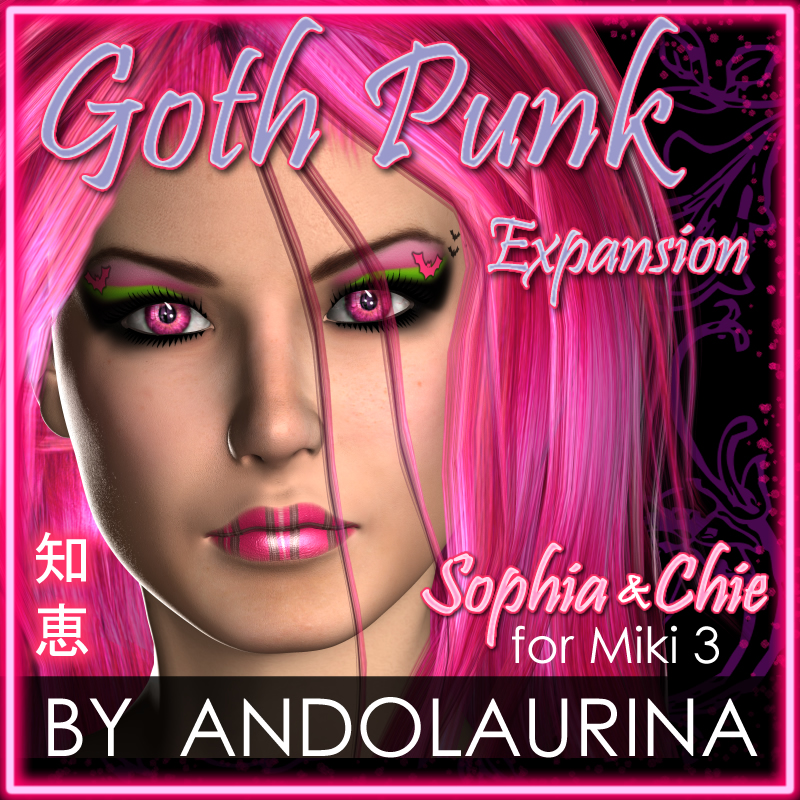 GothPunk Expansion: Sophia & Chie for Miki 3
