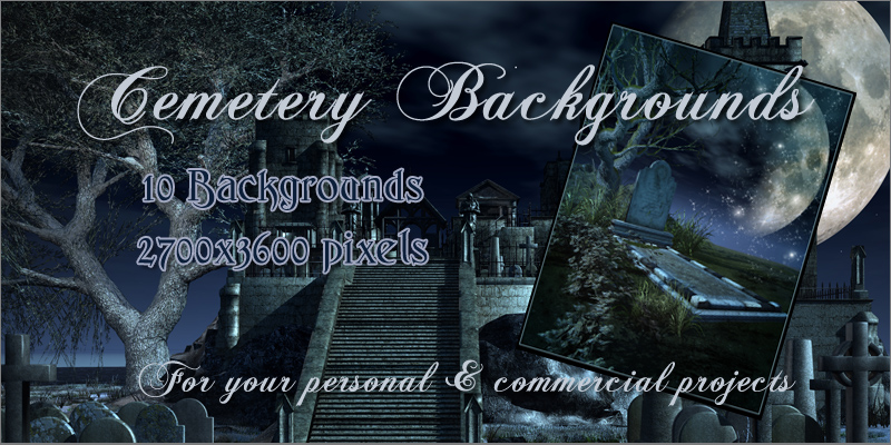 Cemetery Backgrounds
