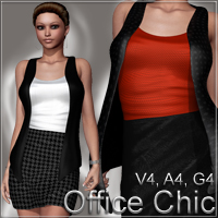 Office Chic V4 A4 G4 Clothing nikisatez