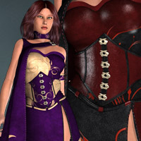 Fantasies for Faire Melody Clothing Themed kaleya
