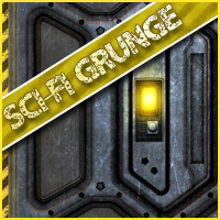 Background Mini-Pack 10: Sci-Fi Grunge Themed 2D And/Or Merchant Resources Sveva