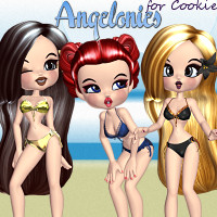 Angelonies for Cookie 3D Figure Essentials didda