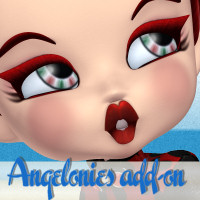 Angelonies Add-on for Cookie 3D Figure Assets didda