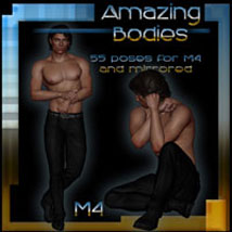 Amazing Bodies - M4 by ilona