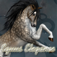 Equus Elegance 100 Poses for the Mill Horse 3D Models solarisonline