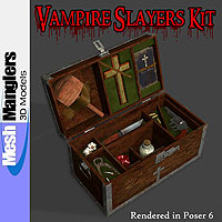 Vampire Slayers Kit 3D Models keppel