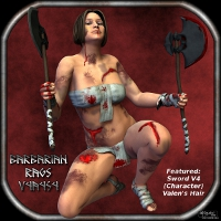 Sickle Barbarian Rags V4A4S4 Clothing SickleYield