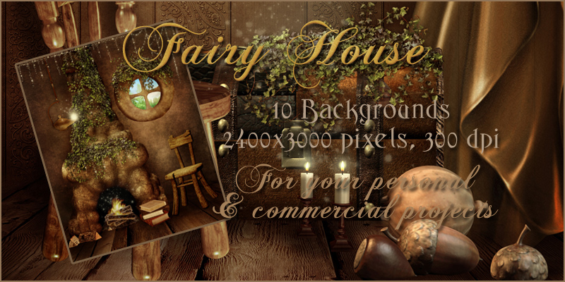 Fairy House Backgrounds