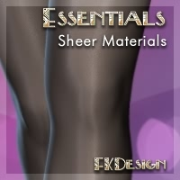 Essentials Vol 3 - Sheers 3D Figure Assets fabiana