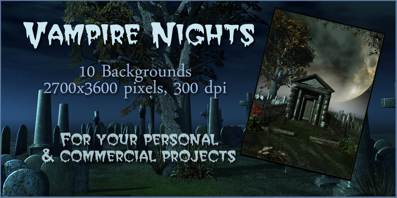 Vampire Nights Backgrounds