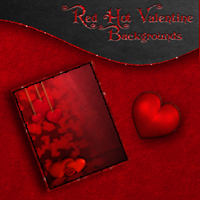 Red Hot Valentine Themed 2D And/Or Merchant Resources Bez