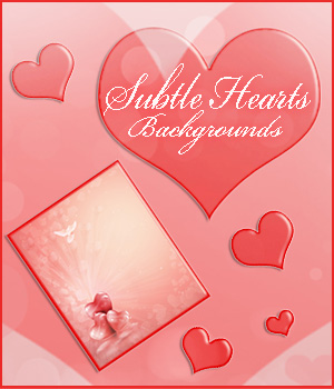 Subtle Hearts 2D Graphics 3D Models Bez